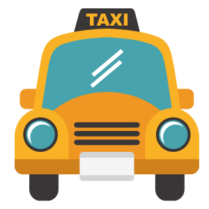 אילוסטרציה של מונית